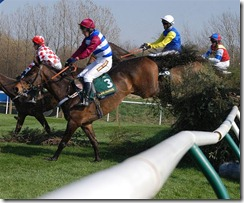 Aintree 09_Foxhunters Chase, Canal Turn - Twilight Trix, Ballybough Jack, Theatre Knight, Christy Beamish